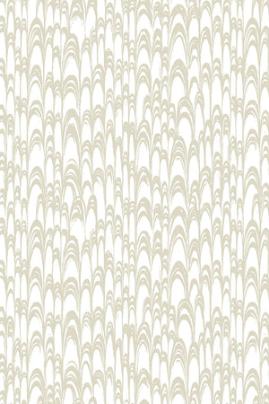 Waterjet Wallpaper - Warm Grey