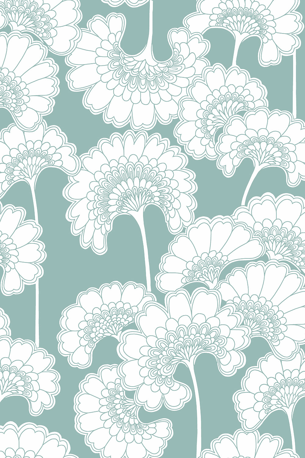 Wallpaper Tagged Blue Florence Broadhurst