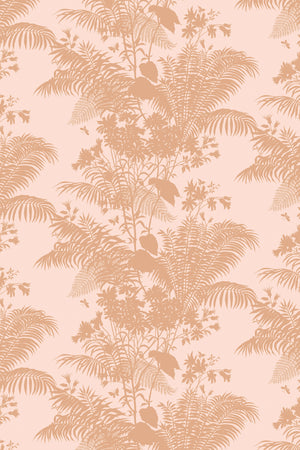 Cut piece: Shadow Floral Velvet Blush - 100cm length (50% Saving)