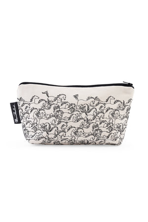 Horses Stampede Cosmetic Pouch