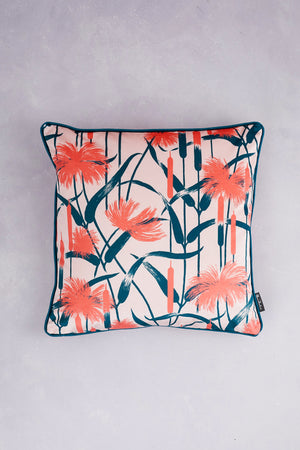 Papyrus Velvet Cushion - Blush