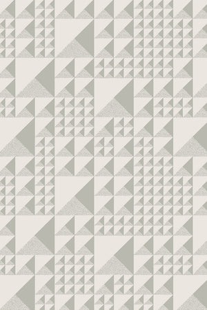 Pyramids Wallpaper - Warm Grey