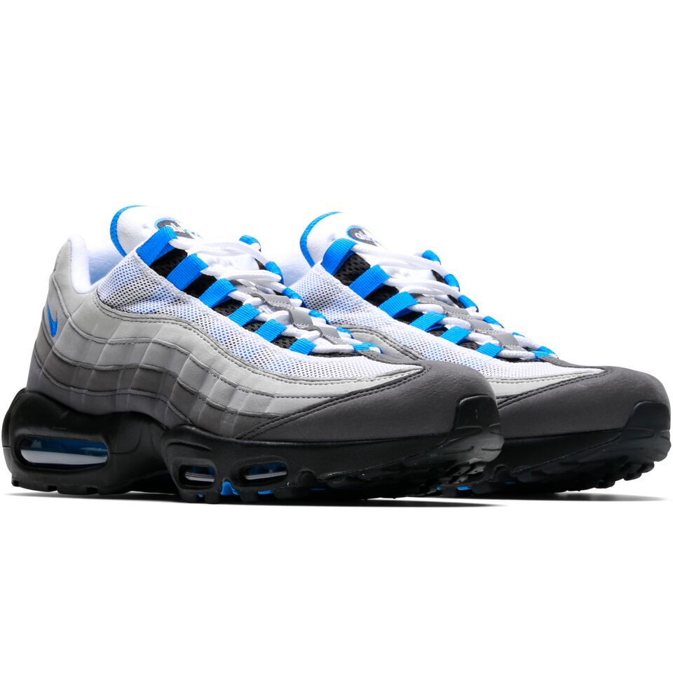 6cac15c0bd Crystal Blue detailing then finishes the look, boasting it on its lateral  heel Swoosh, eyelets, liner, inner tongue, Air Max unit and outsole.
