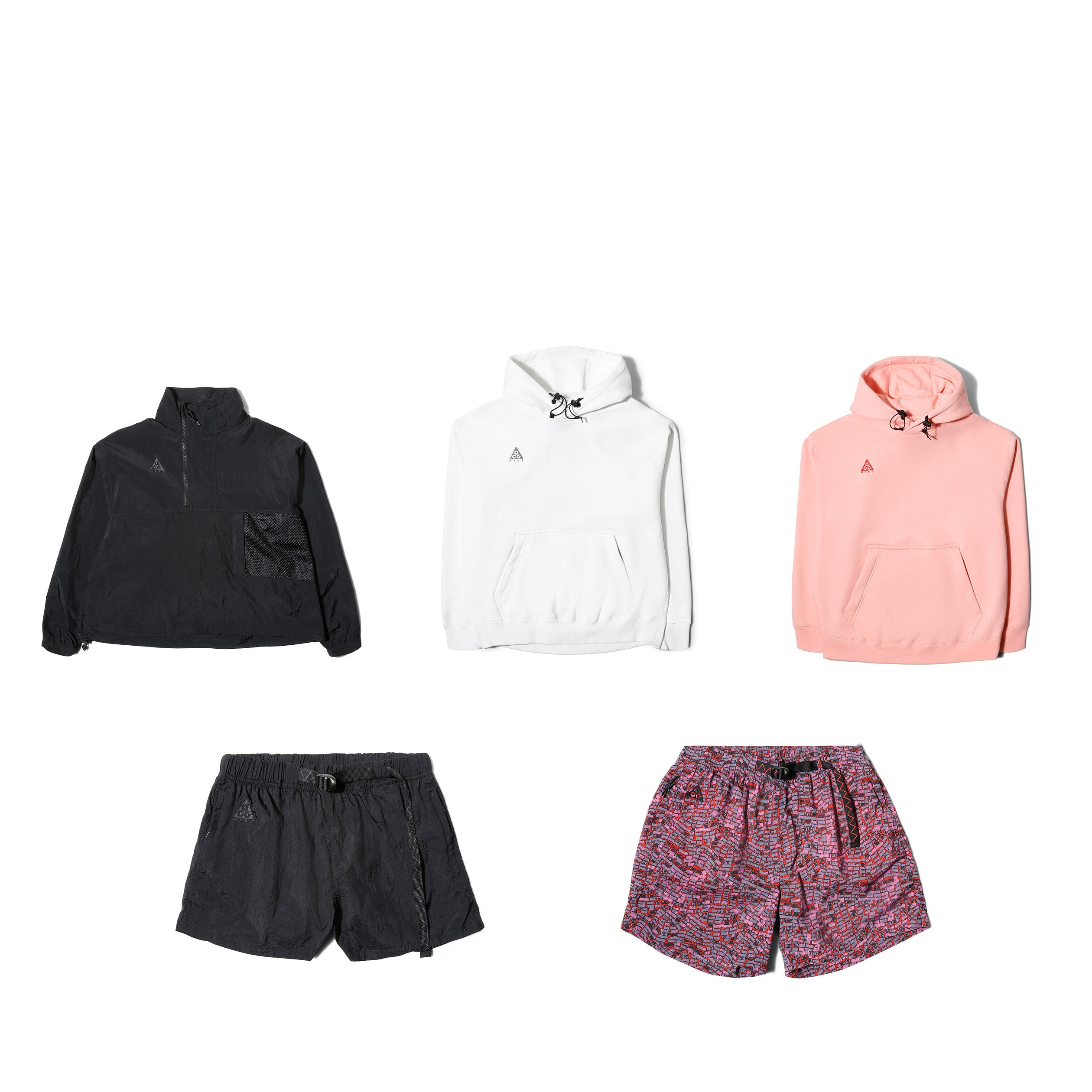 best sneakers 747f9 98824 Nike ACG Apparel  not all products offered are pictured  W NRG ACG ANORAK  BQ3615-010 -  120. M NRG ACG VEST BQ3619-010 -  120. M NRG ACG PO HOODIE ...