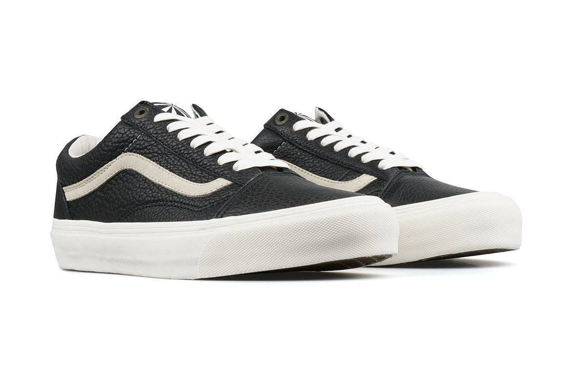 c9f6f1790e The Sk8-Mid LX on the other hand sports a two-toned Beige and Black leather  upper with Hayashi s signature on the tongue.