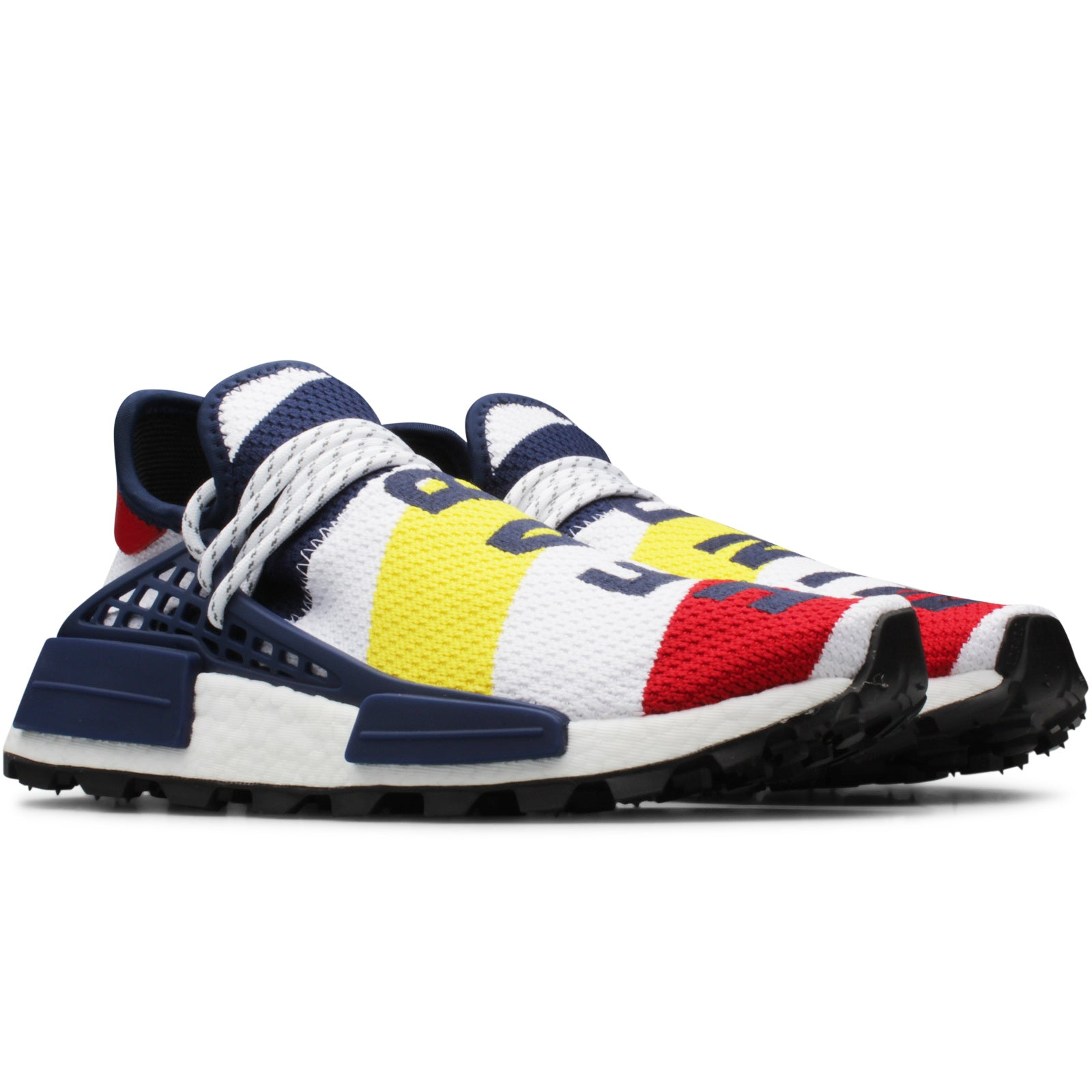 2934ac00e Stitched within the Hu NMD s instantly recognisable primeknit upper are  iconic Billionaire Boys Club logo marks
