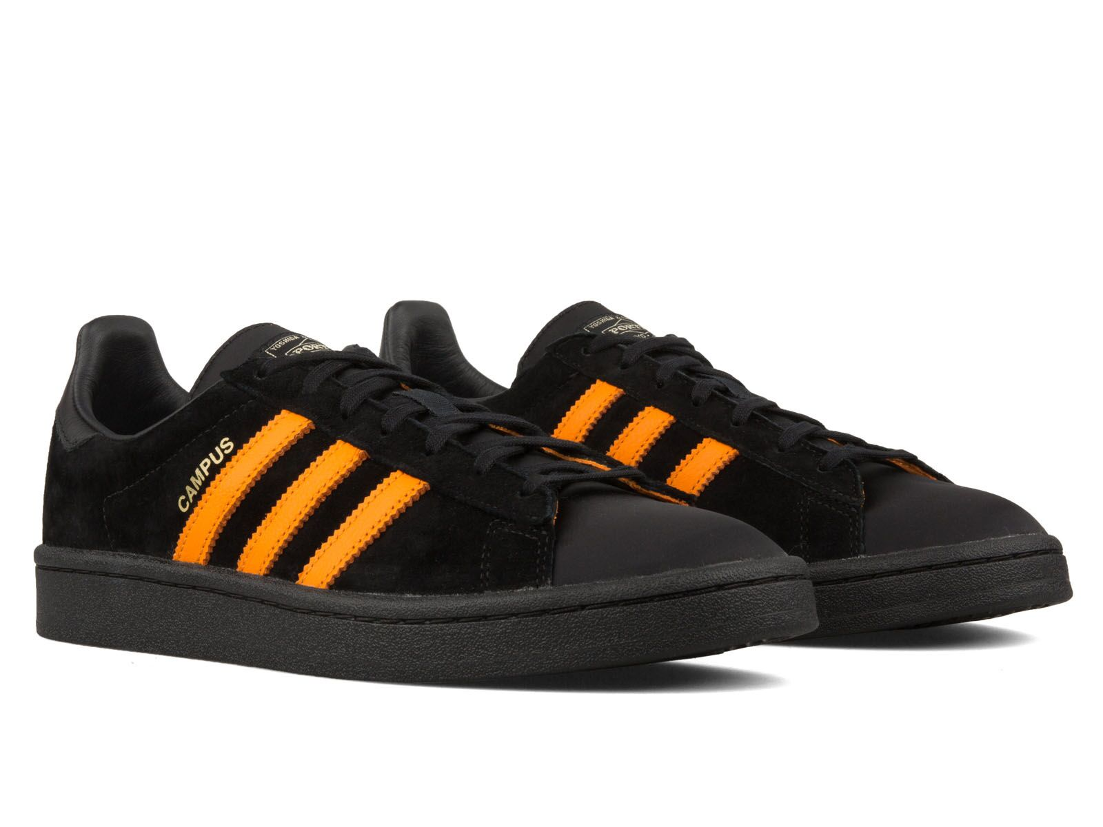 e0b766ad3456 ... and a gold-stamped Porter hit by the stripes replaces the normal adidas  mark. The shoe s clean look is tied together by a Porter tongue patch and  ...