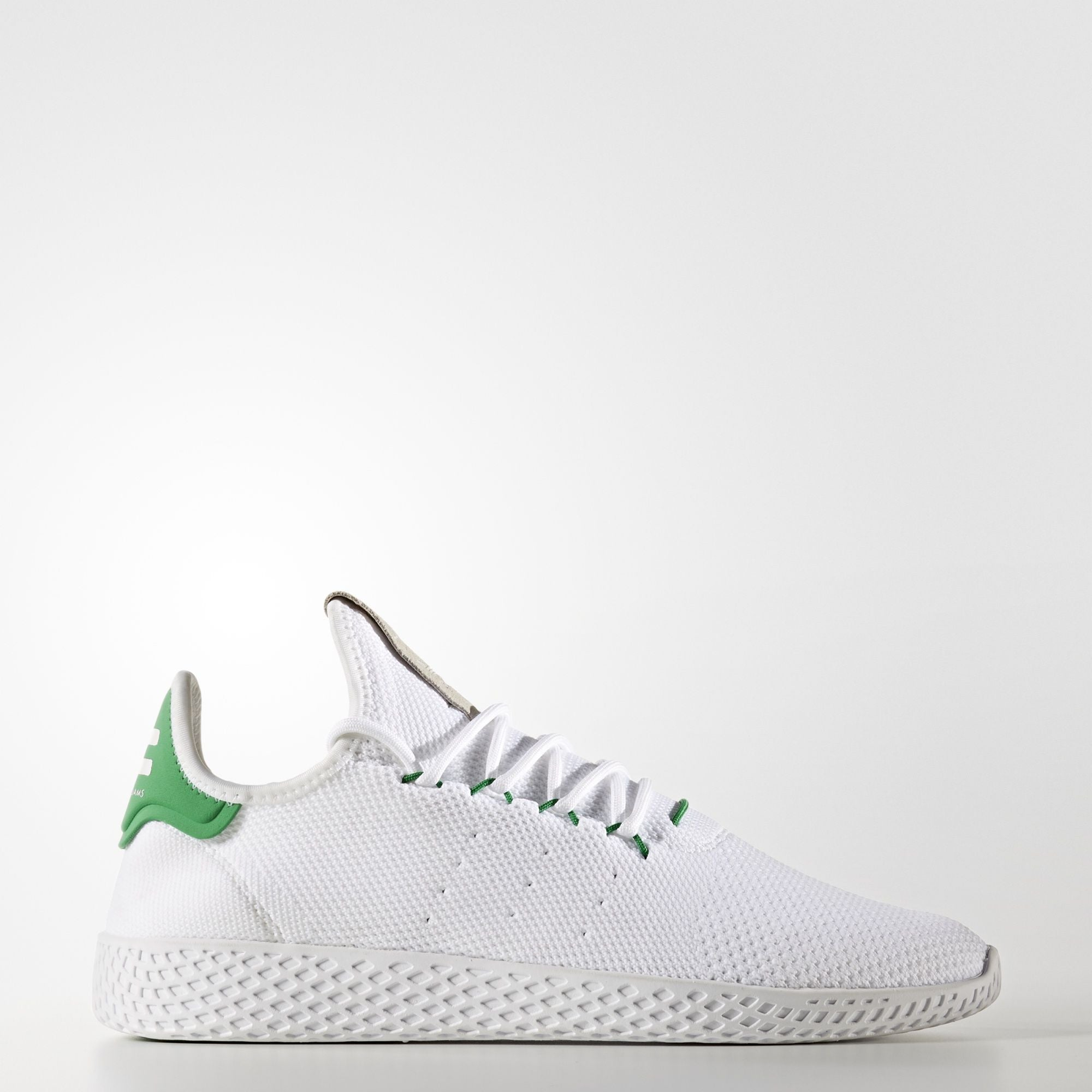 6be524fd8 Pharrell Williams  Tennis Hu features a sock Primeknit construction in  colorways that pay tribute to iconic adidas tennis shoes
