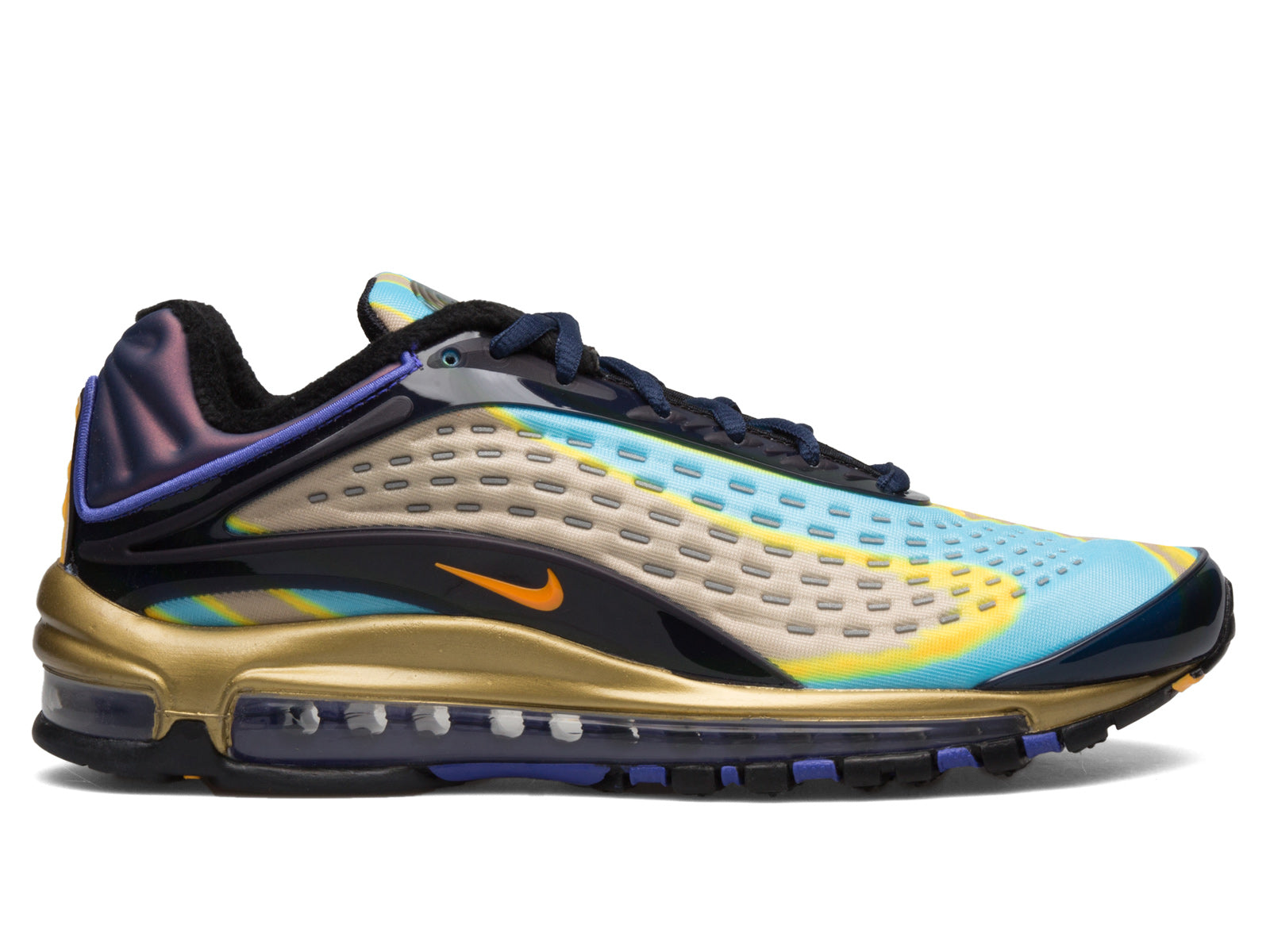 98319eb47a1 Additional details seen include Royal Purple and Gold accents on the heel