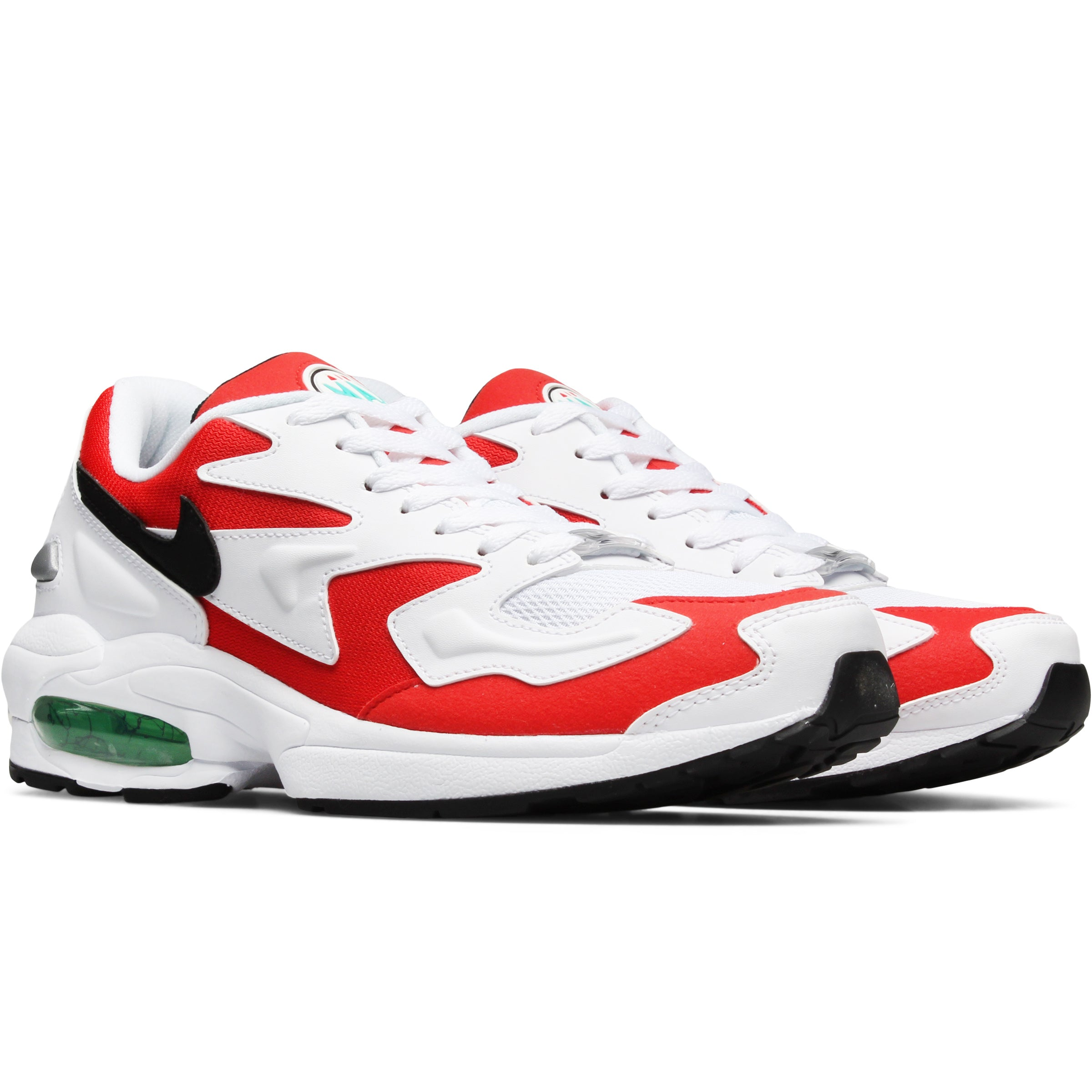 cacc711d34c Nike Air Max2 Light WHITE/BLACK-HABANERO RED-COOL GREY AO1741-101. Retail:  $140