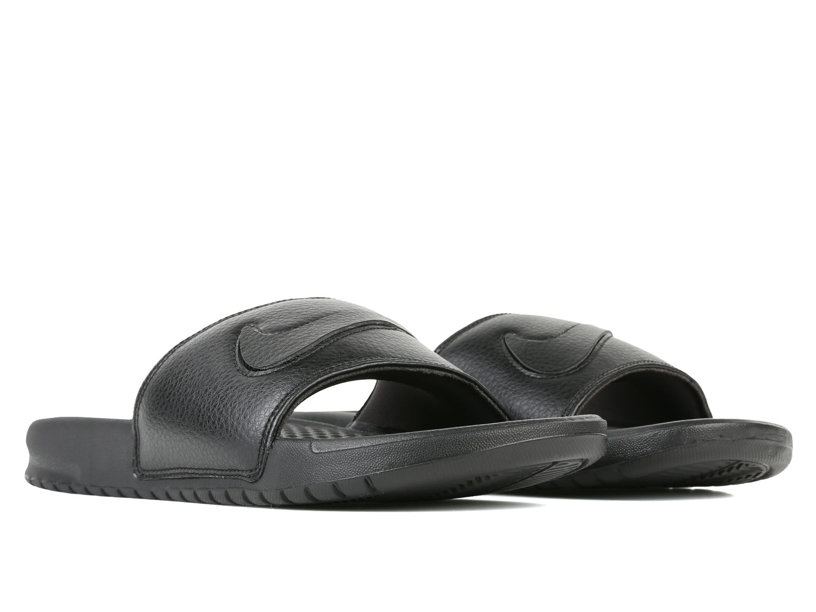 promo code 437a7 dad29 The Nike Benassi JDI LTD Men s Slide offers casual comfort with a padded  strap and textured footbed. Interchangeable Swoosh patches are included for  ...
