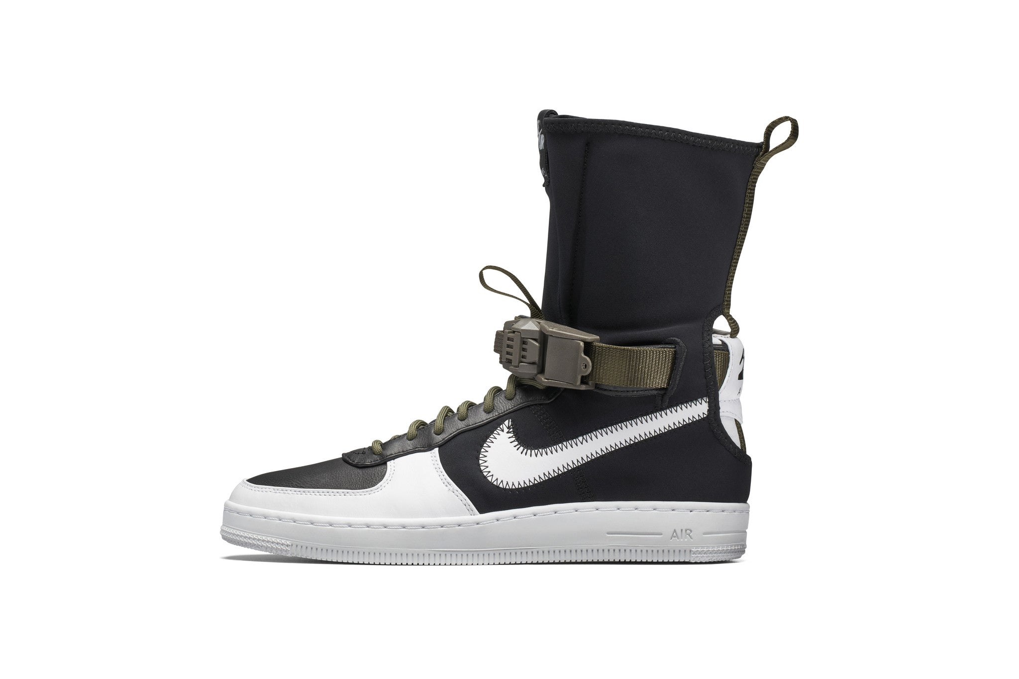 ... a lateral zipped closure, ankle strap, and graphic hit on the heel  showing the ACRONYM logo. In typical ACRONYM fashion, each of the three  colorways are ...
