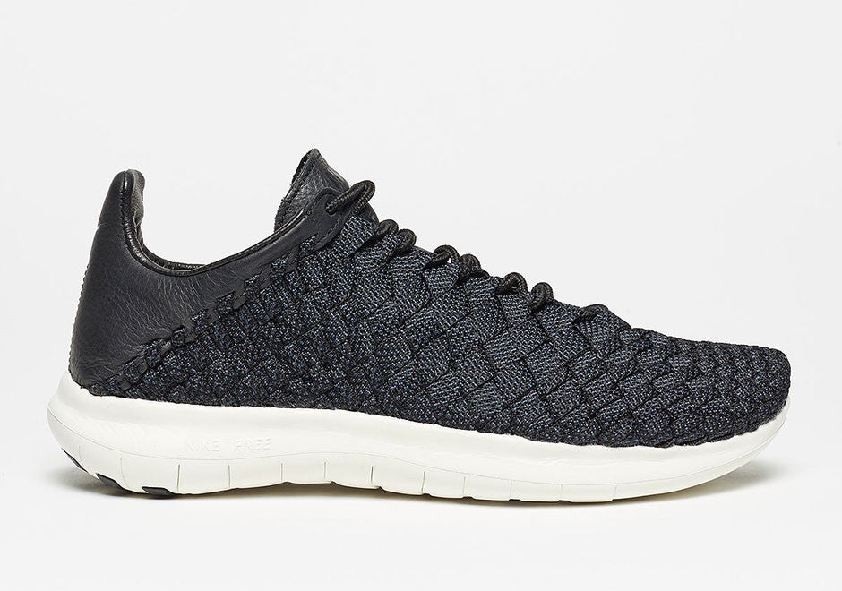 the best attitude d19e2 31ac4 The new Nike Free Inneva Woven version will be offered in two colorways,  black black and white, and Pure Platinum White-Sail.
