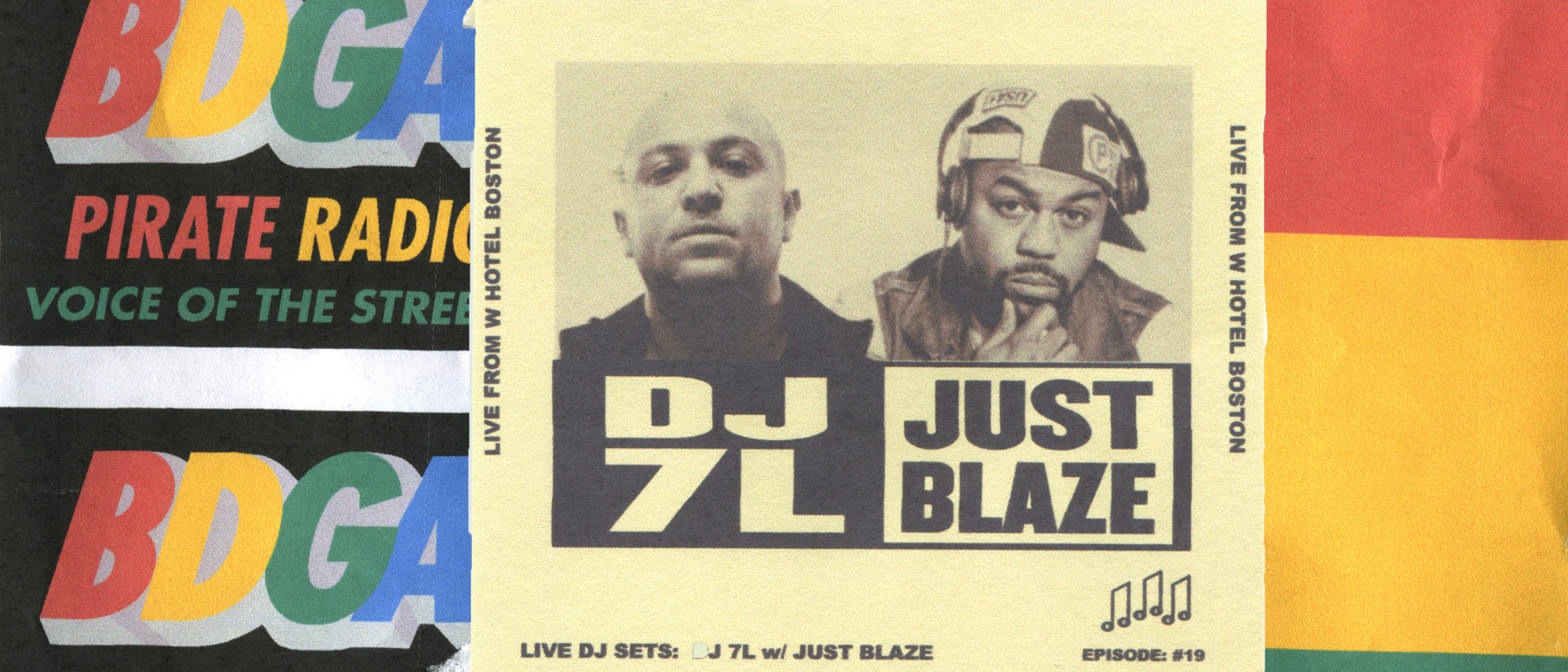 Episode #19: 7L & Just Blaze Live at the W Hotel Boston