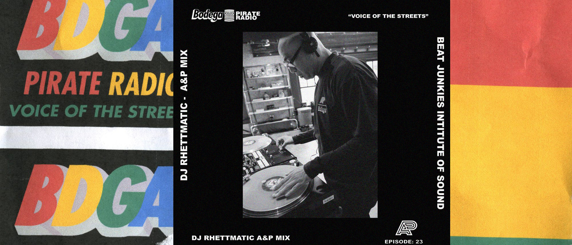 Episode #23: DJ Rhettmatic - Albino & Preto Mix