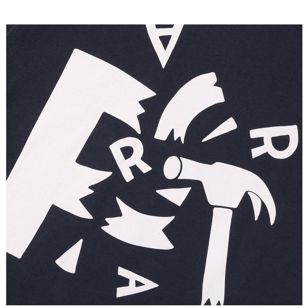 By Parra T-SHIRT SHATTERED Navy Blue