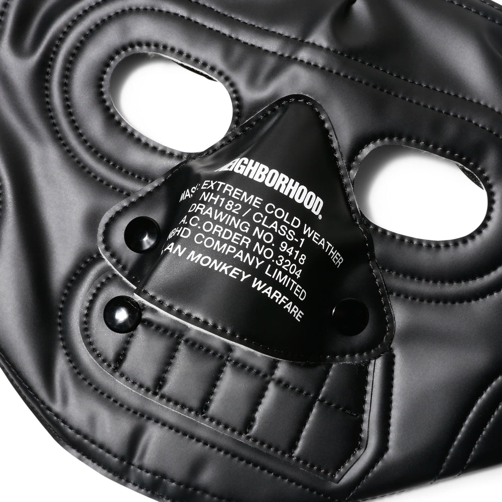 Neighborhood WAR FARE / P-FACE MASK Black