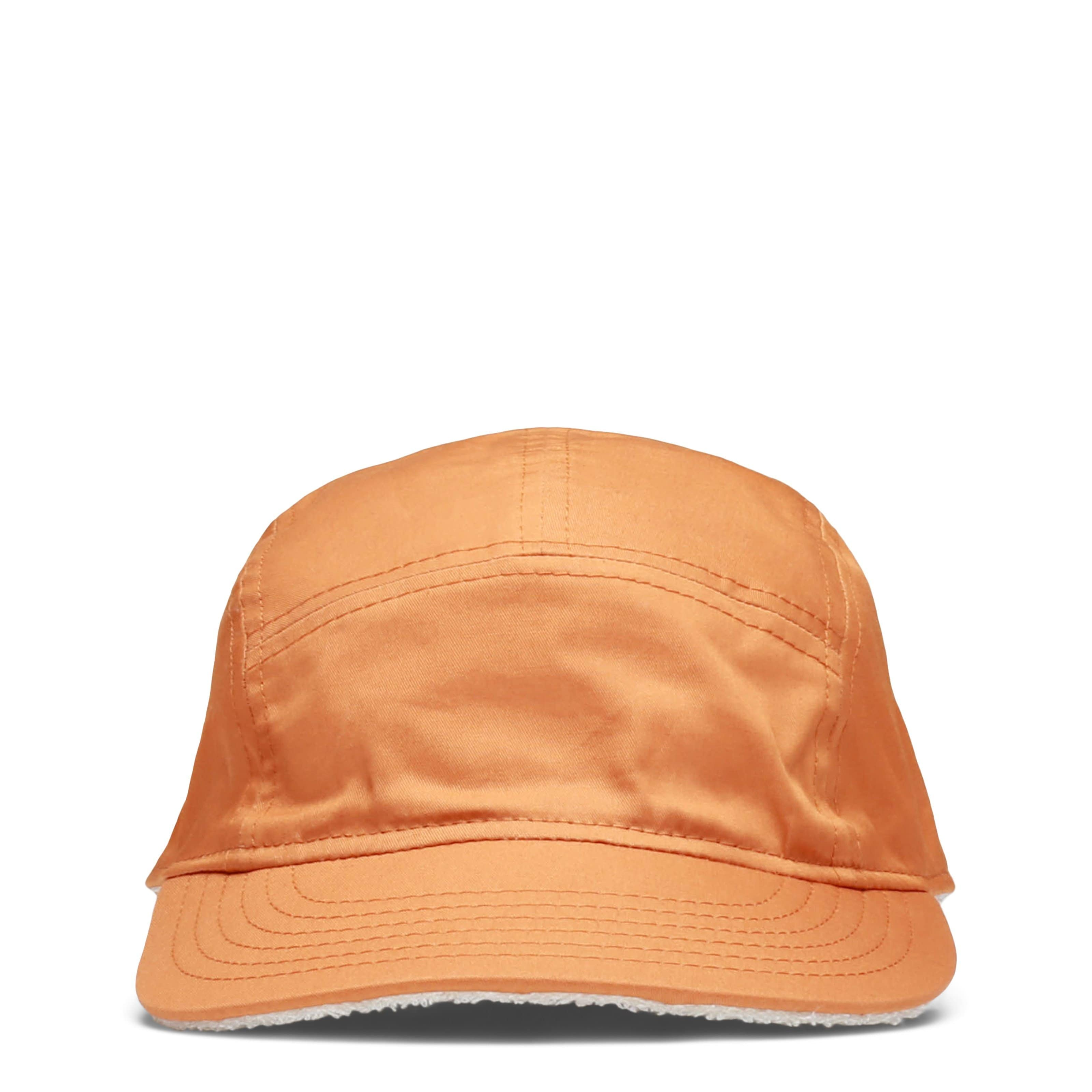 New Era Headwear ORANGE / O/S COTTON BOUCLE REVERSIBLE 5 PANEL