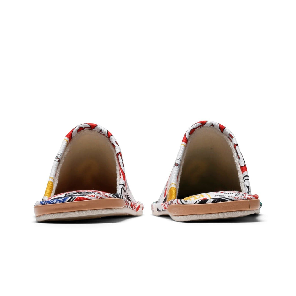 Bodega Innersect F@BRICK SLIPPERS All Over Print