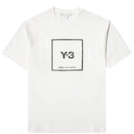 Load image into Gallery viewer, adidas Y-3 T-Shirts SQUARE LABEL GRAPHIC SS TEE