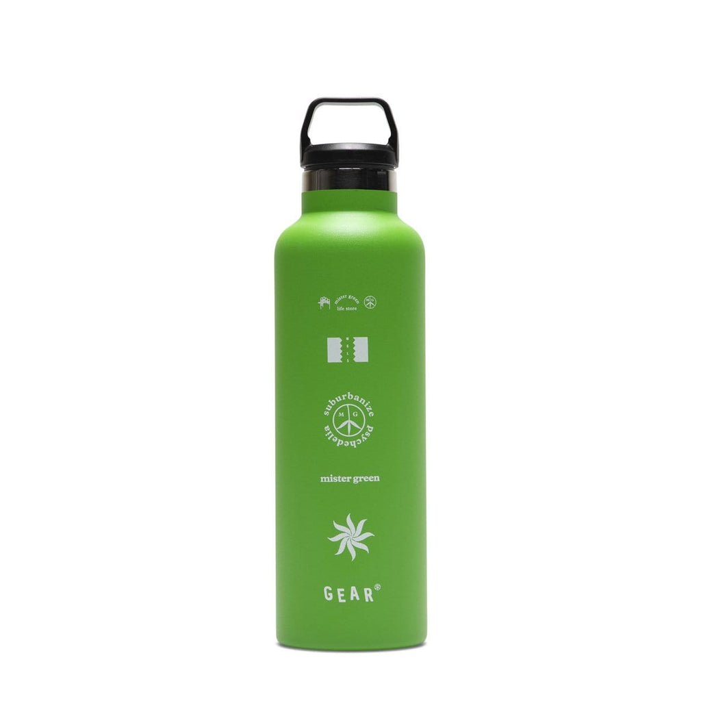 Mister Green Bags & Accessories GREEN / O/S BONG WATER FLASK