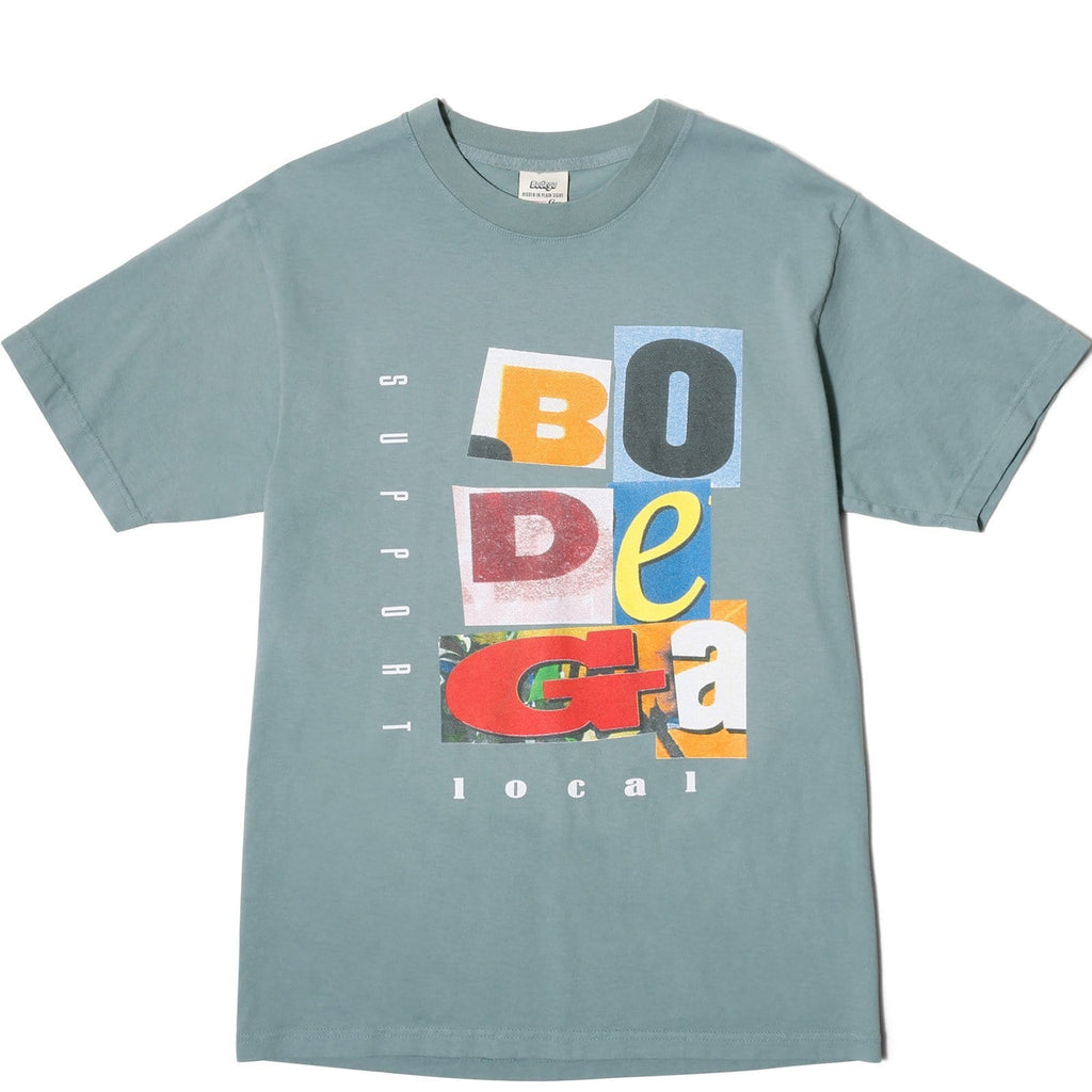 Bodega COLLAGE TEE Slate
