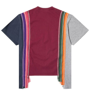Needles T-Shirts ASST / XL 7 CUTS S/S TEE - COLLEGE FW20 57