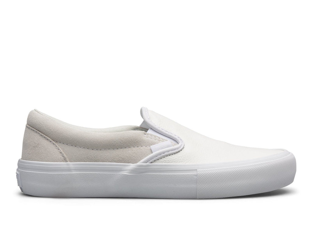 Vault by Vans x Engineered Garments Classic Slip On LX White