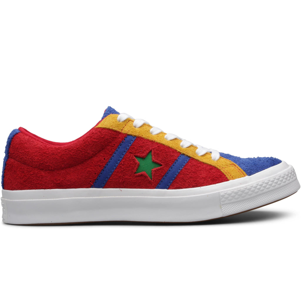 Converse ONE STAR ACADEMY OX Enamel Red/Blue