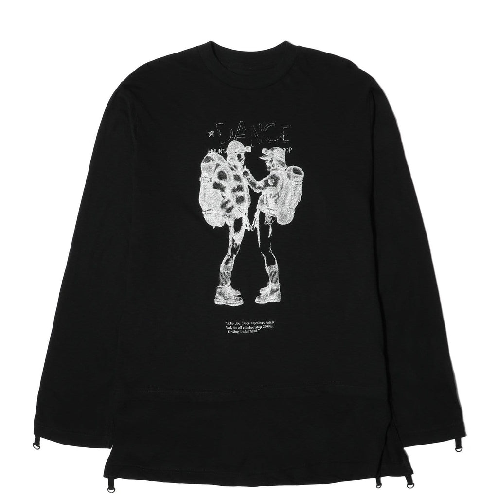 Mountain Research MUSLIN SHIRT Two Mountaineers Blac