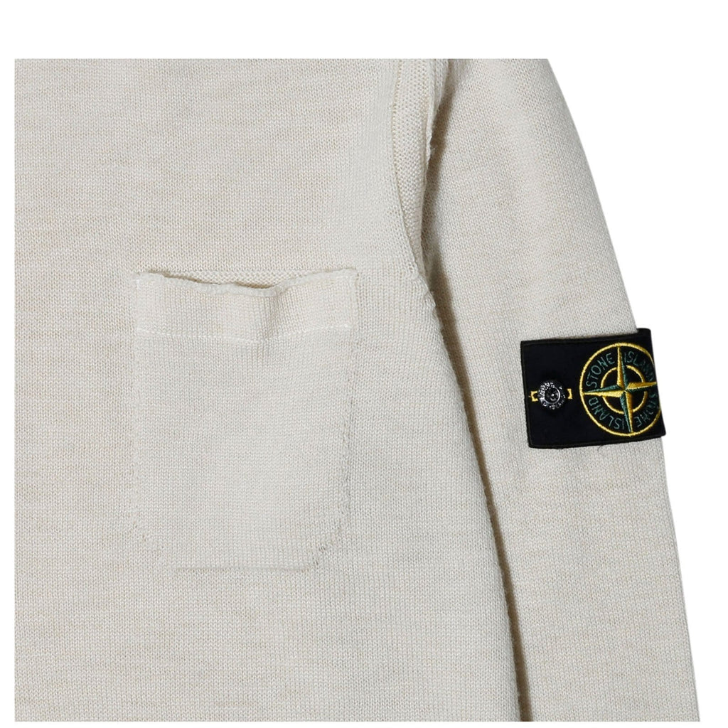 Stone Island KNITWEAR 6915531D7 Natural White