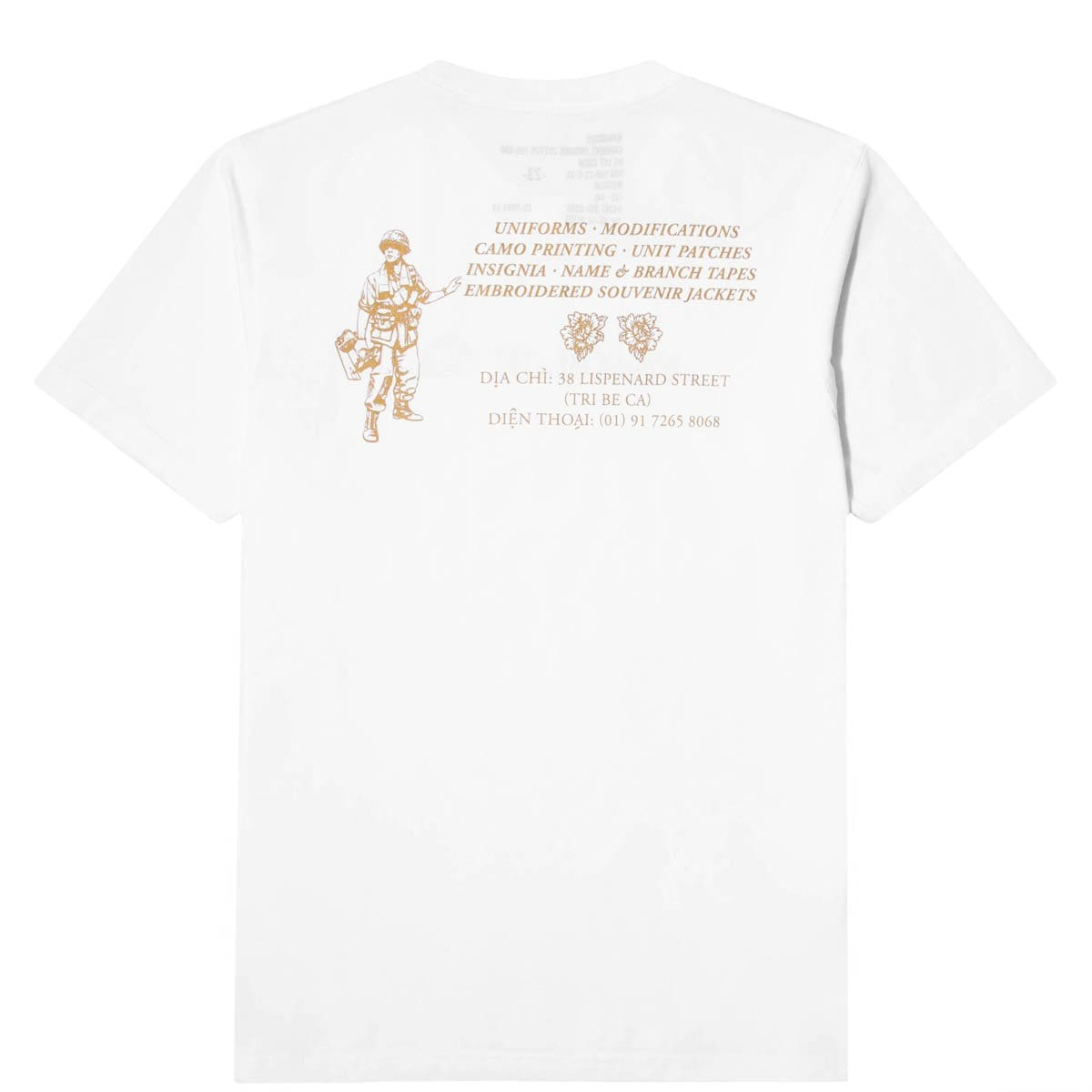 Maharishi T-Shirts MAHA GOLD TAILOR T-SHIRT