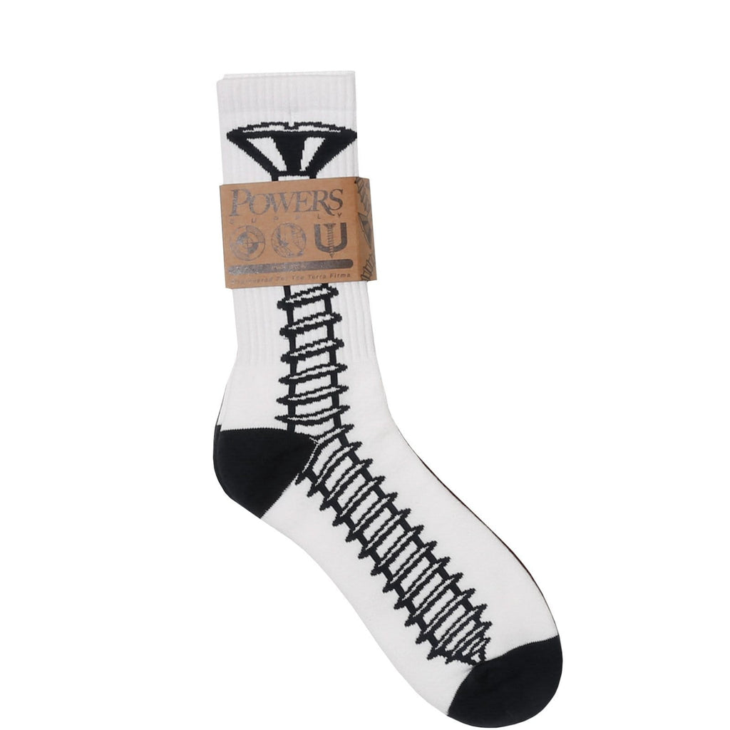 Powers SCREW SOCKS (2 PACK) White/Wine/Navy