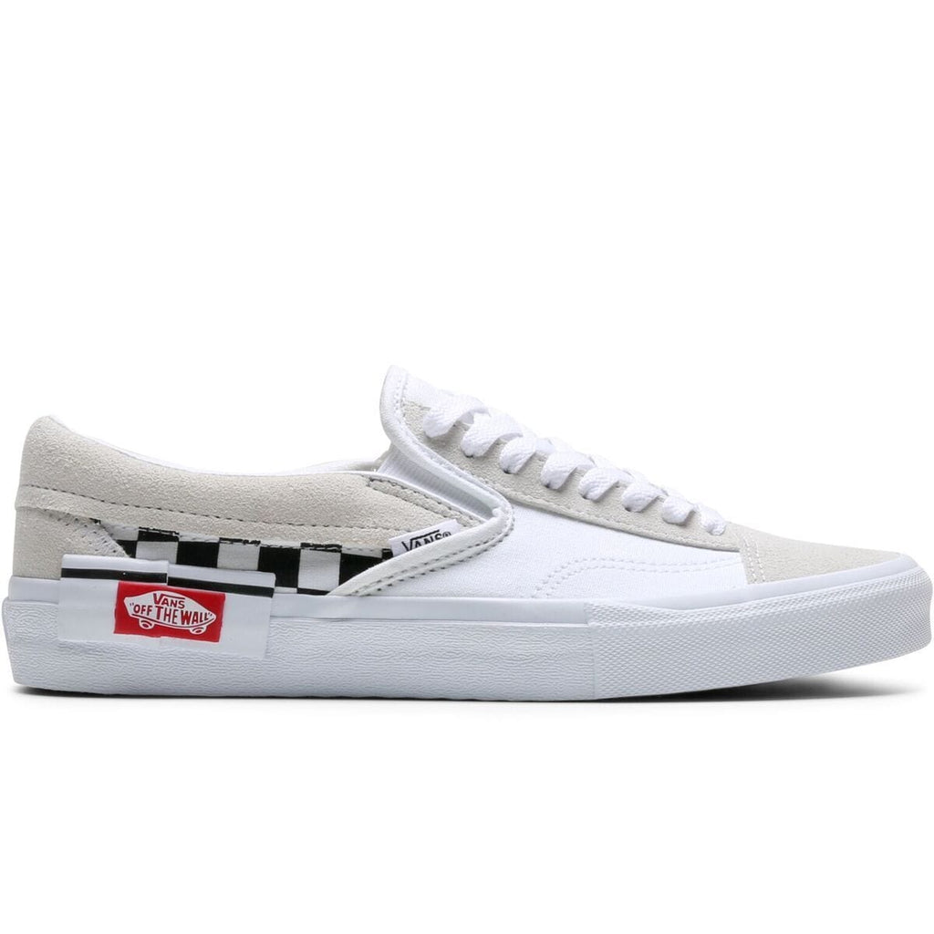Vans SLIP-ON CAP CHECKERBOARD (TRU WHIT/BLK) [VN0A3WM527I]