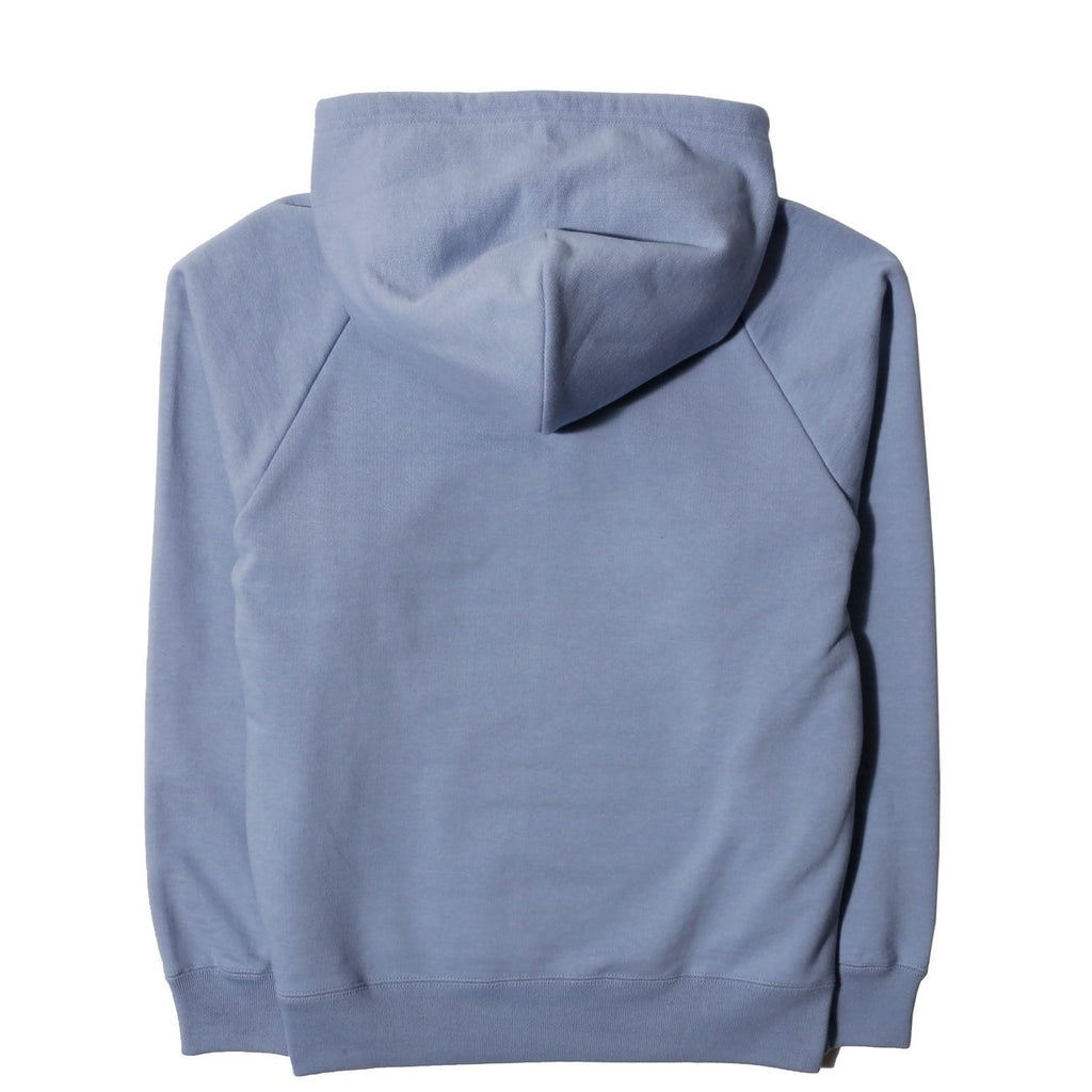 Wacko Maria WASHED HEAVYWEIGHT PULLOVER HOODED SWEATSHIRT ( TYPE-2 ) Light Blue