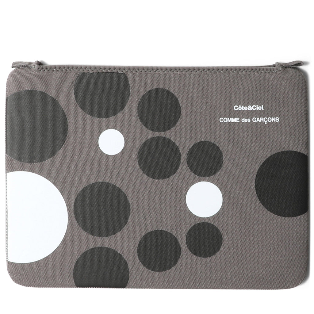 Comme Des Garçons x Cote and Ciel MACBOOK AIR CASE Grey/Dots