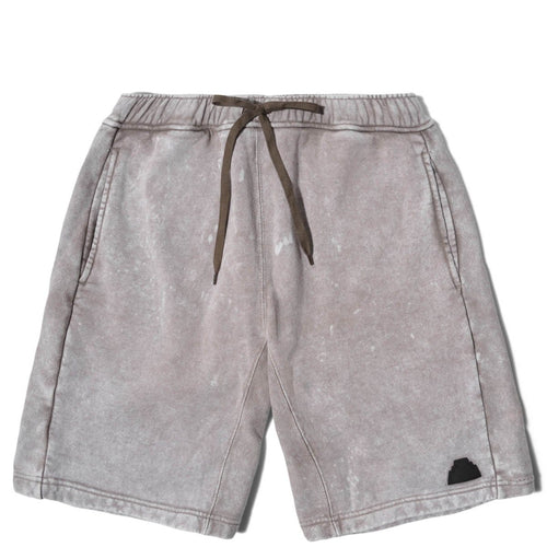 Cav Empt BLEACHED SWEAT SHORTS Grey