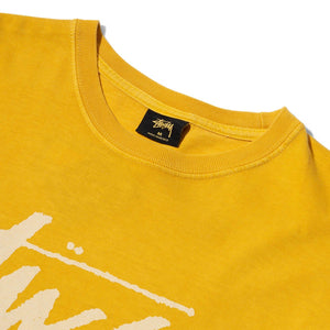 Stussy T-Shirts STOCK PIGMENT DYED TEE