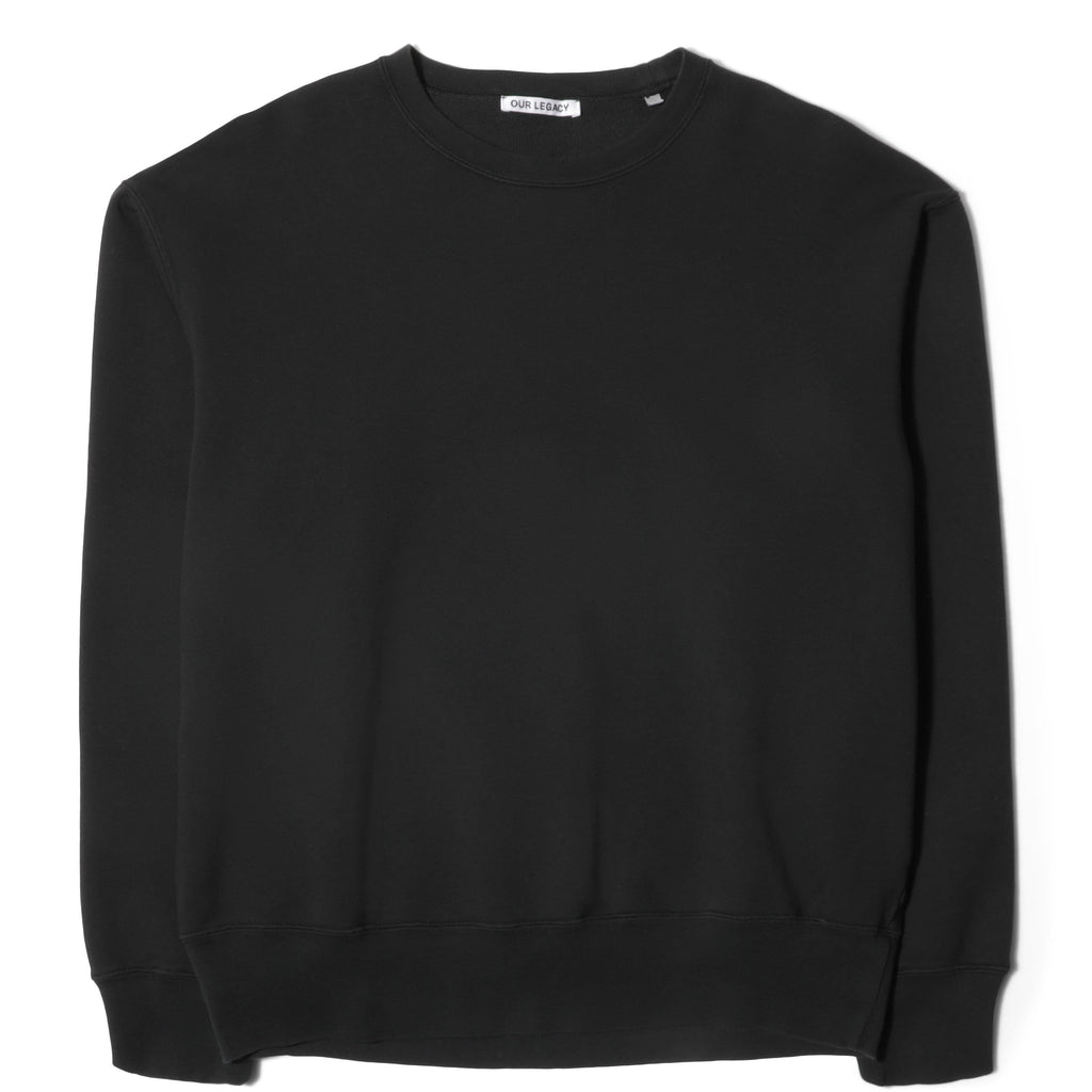 Our Legacy PATCH SWEAT Washed Black