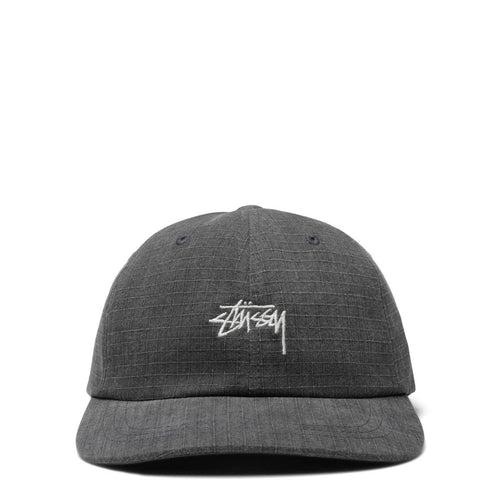 Stussy WASHED RIPSTOP LOW PRO CAP BLACK