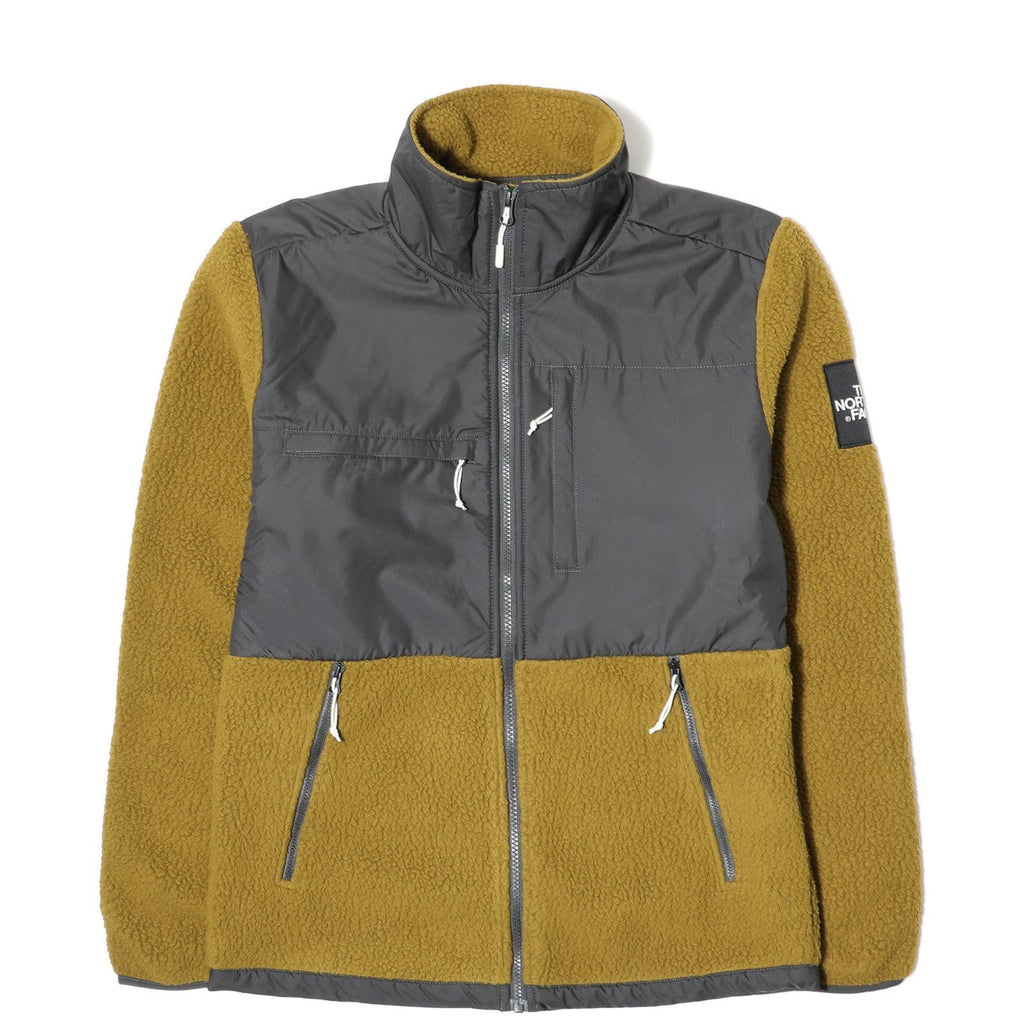 The North Face DENALI FLEECE Asphalt Grey/Fir Green