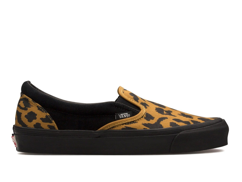 Vault by Vans OG CLASSIC SLIP-ON LX (suede/canvas) Leopard/Black