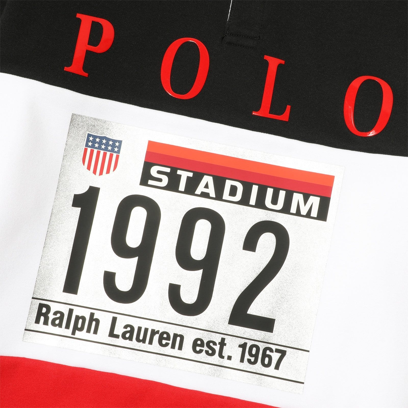 Polo Ralph Lauren L/S RUGBY White/Multi