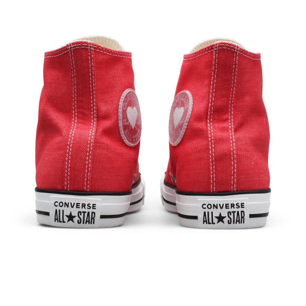 Converse WOMEN'S CTAS HI Red/Black/White