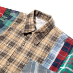 Load image into Gallery viewer, Needles Shirts ASST / L 7 CUTS FLANNEL SHIRT FW20 32