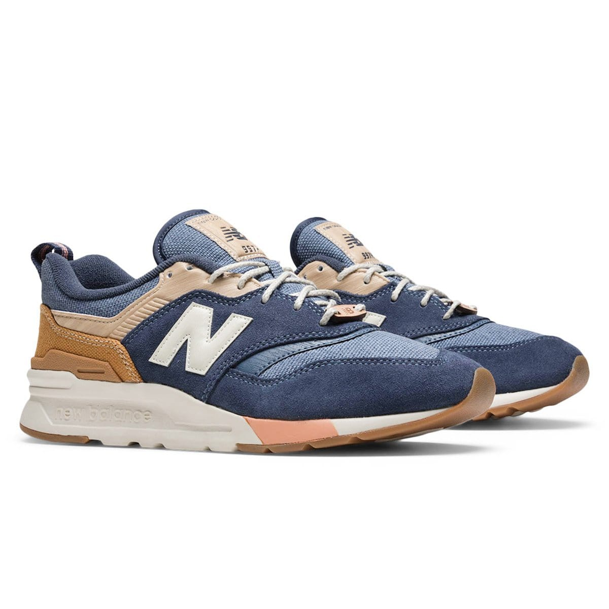 New Balance CM997HAK Navy/Brown