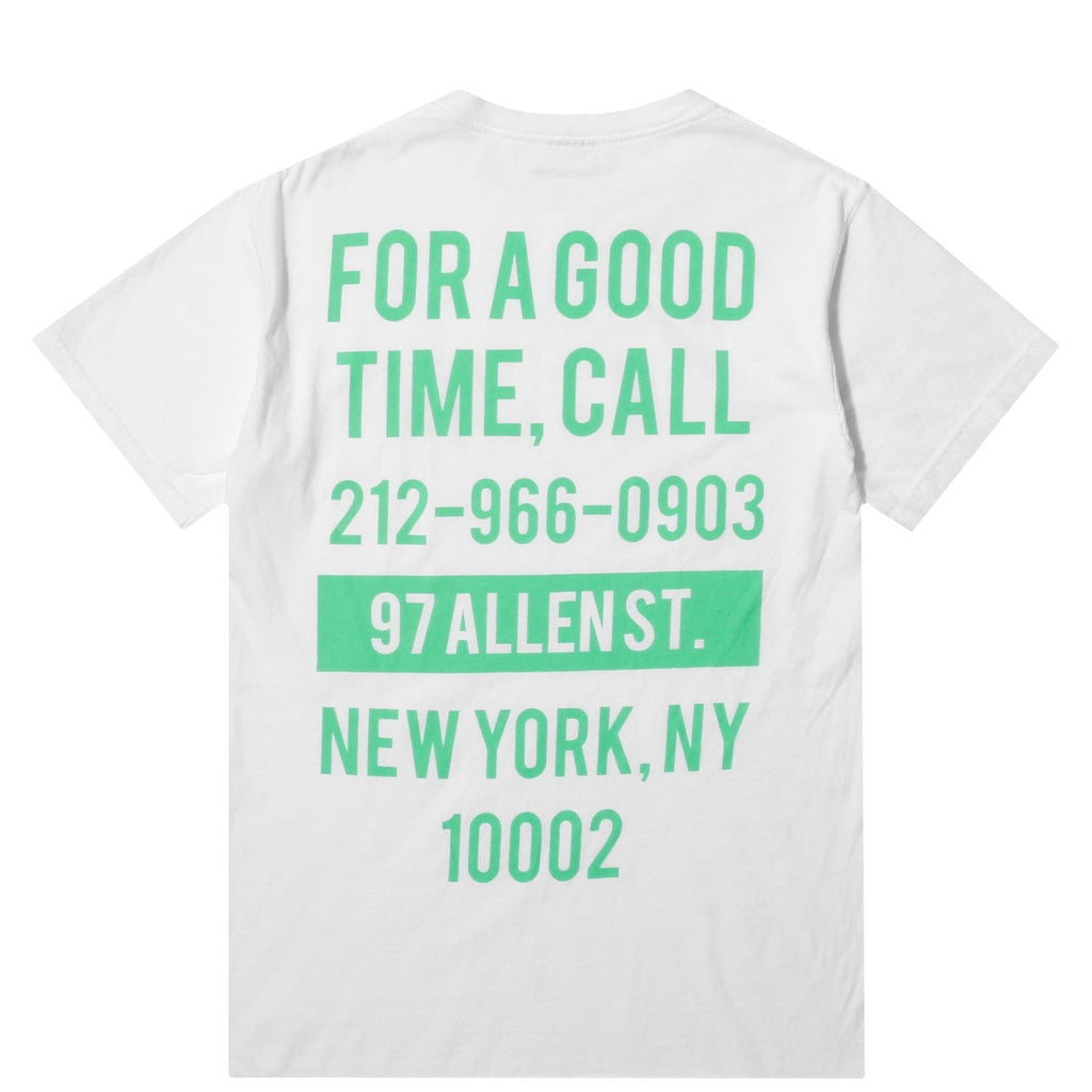 The Good Company GOOD TIME SS White/Turquoise