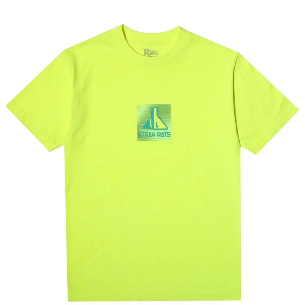Stray Rats LAB TEE Safety Yellow