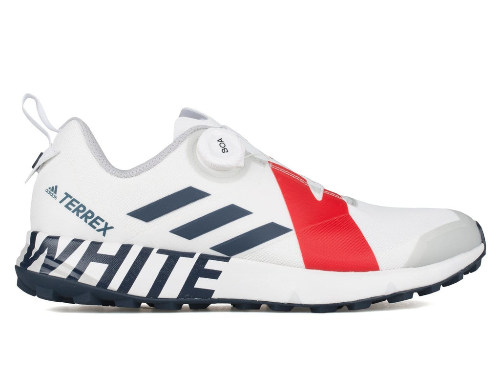 Adidas x White Mountaineering Terrex Two Boa White/Collegiate Navy/Red :