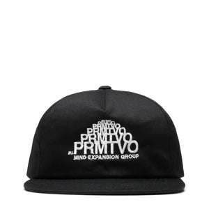 PRMTVO Bags & Accessories BLACK / O/S EXPANDING LOGO HAT